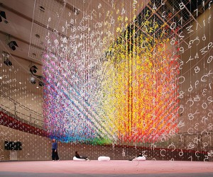 Emmanuelle Moureauxs 1000 Colors Recipe Installation