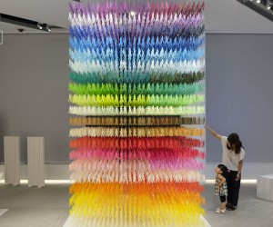 Emmanuelle Moureauxs I Am Here installation