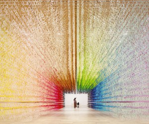 Emmanuelle Moureauxs Rainbow Installation Color of Time