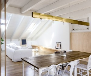 Emme Elle Attic Apartment by Archiplan Studio