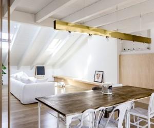 Emme Elle Attic Apartment by Archiplan Studio