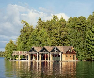 Enchanting Lakeside Family Retreat in the Adirondack Mountains