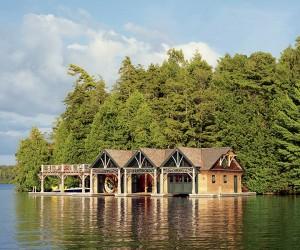 Enchanting Lakeside Family Retreat in the Adirondack Mountains