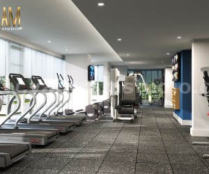Energy Fitness Sports  Commercial Gym Training Center 3D Interior Designers by Architectural and Design Services, Berlin  Germany