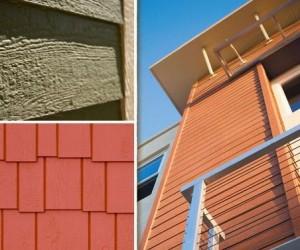 Engineered wood siding and trim for Engineered wood siding panels