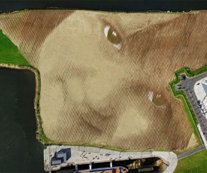 Enormous 11-Acre Landscape Portrait Artwork