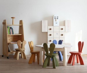 Environmentally friendly furniture for children