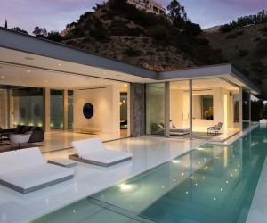 Epic Architectural Masterpiece Overlooking the Hollywood Hills