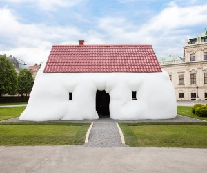 Erwin Wurms Fat House Installed in Vienna