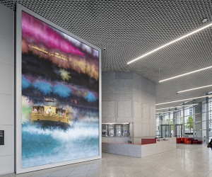 ESI Designs Canvas Interactive Installation in Chicago