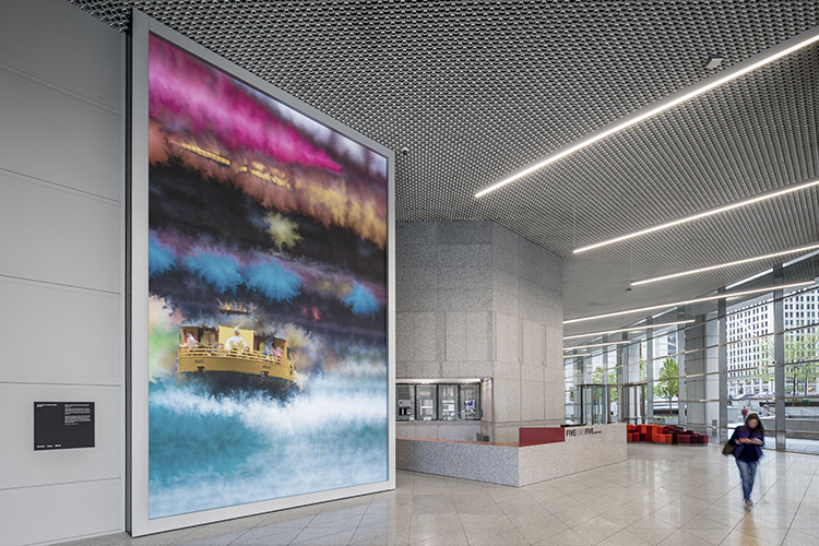 Esi Designs Canvas Interactive Installation In Chicago