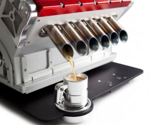 Espresso Veloce | Coffee Machine Tribute to Grand Prix Engines