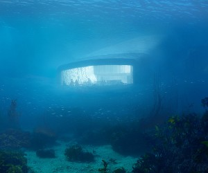 Europes First Underwater Restaurant by Snhetta