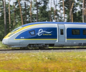 Eurostar e320 train by Pininfarina