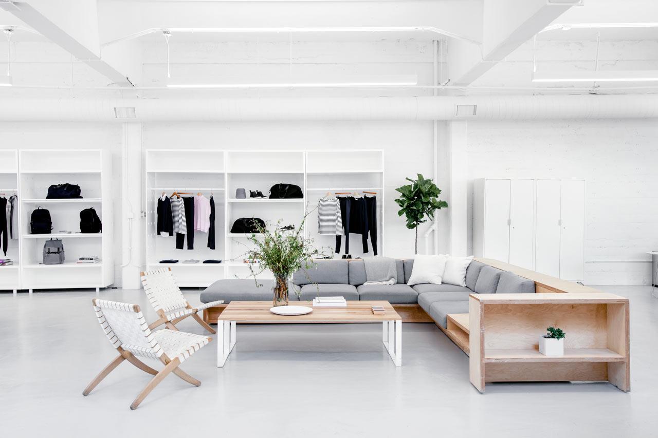 Everlane Showroom by BROOKLYN
