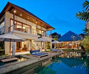 Exhilarating Modern Tropical Living in Bali