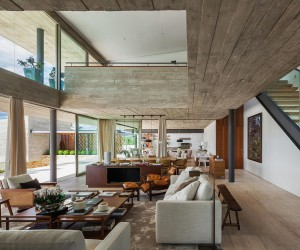 Expansive Living: Multiple Volumes Create a Breezy Brazilian Home