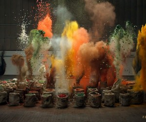 Exploding Spices by Grey London for Schwartz Flavour Shots.