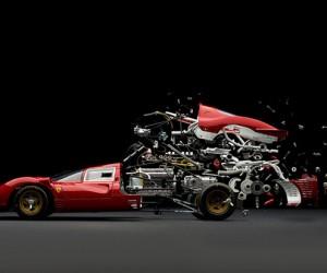 Exploding Sports Cars | Fabian Oefner