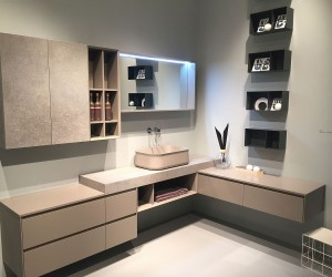 Exquisite Contemporary Bathroom Vanities with Space-Savvy Style
