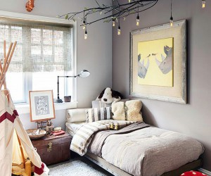 Exquisite Kids Rooms that Tap into the Beauty of Edison Bulbs