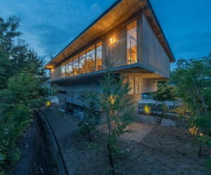 Extensive Mountain House Made of Concrete