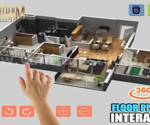Extraordinary Interactive Residential house floor plan design company by VR Development, Istanbul  Turkey