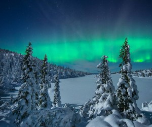 Extreme Auroras Over Norway: Landscape Photography by Kjell Arne ia