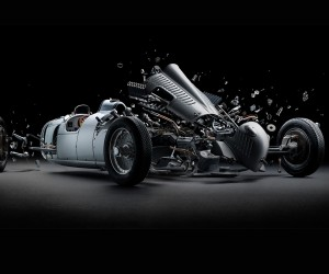 Fabian Oefners Exploded Iconic Sports Cars