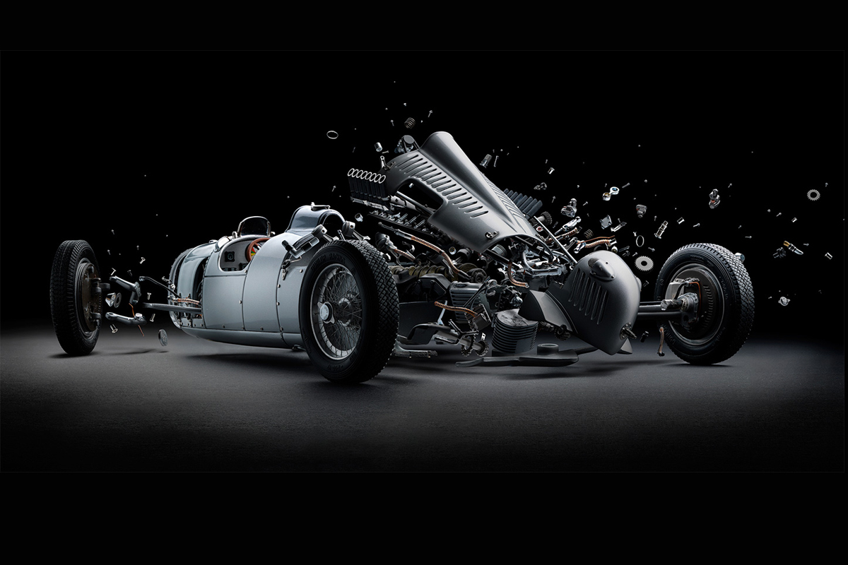 Fabian Oefners Exploded Iconic Sports Cars - Iconic sports cars