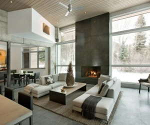 Fabulous Concrete Mountain Retreat in Snowmass
