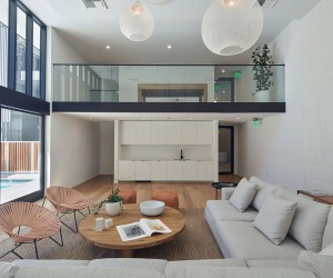 Fabulous Remodeling of an Old Building in the City of Hollywood, California