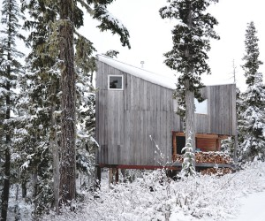 Fabulous Ski Slopes Surround this Woodsy Alpine Cabin on Vancouver Island