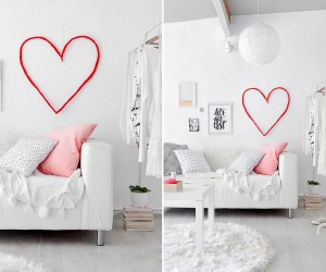 Falling in Love: Red DIY Crafts for Valentines Day