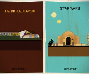 Famous Architecture from Classic Films