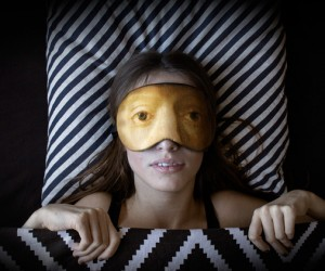 Famous Portrait Inspired Sleep Masks