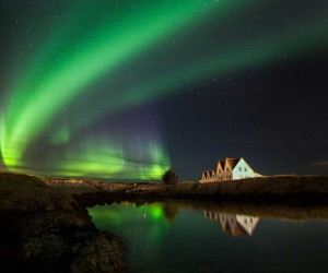 Fantastic Northern Lights Photos by Simona Buratti and Arnar Kristjansson
