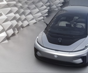 Faraday Future unveils the FF 91electric car