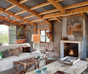 Farmhouse Beautifully Transformed into Rustic Home