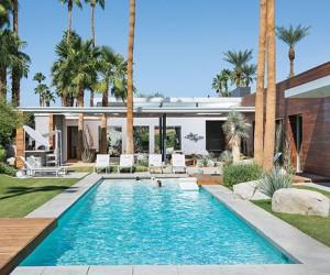 Fascinating Desert Oasis: Modern Vacation Retreat in California