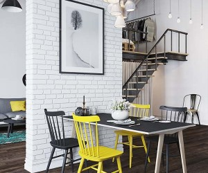 Fascinating Scandinavian Style Loft Apartment in Prague