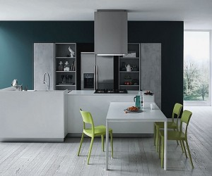 Fashionable Kitchen Gives Minimalism A Casual Twist