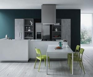 Fashionable Kitchen Gives Minimalism A Casual Twist