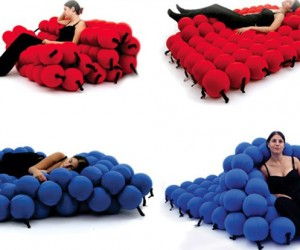 Feel Seating System : Squishy Balls Lounge