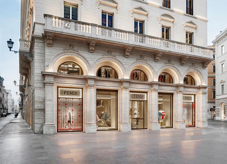 Fendi Flagship Store In Rome