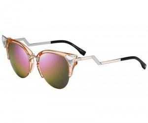Fendi Iridia Sunglasses nail the sultry cat eye