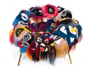 Fendi x Campana Brothers Unveils The Armchair Of Thousand Eyes