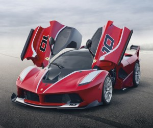 Ferrari reveals track-only LaFerrari FXXK 1,036bhp