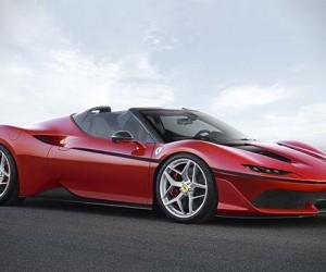 Ferrari Unveils Its Japan-exclusive J50