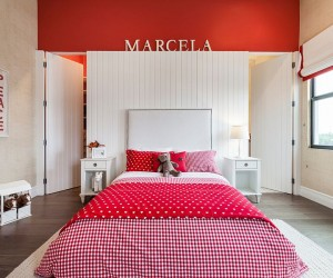 Fiery and Fascinating: 25 Kids Bedrooms Wrapped in Shades of Red